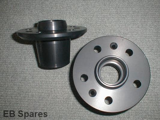 Lightweight Alfa Romeo aluminium wheel hubs
