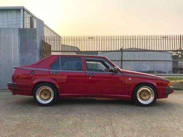 TH Turbo Split Rim Wheels on Alfa Romeo 75