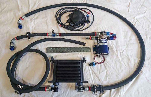 Alfa Romeo Gearbox Oil Cooler Kit