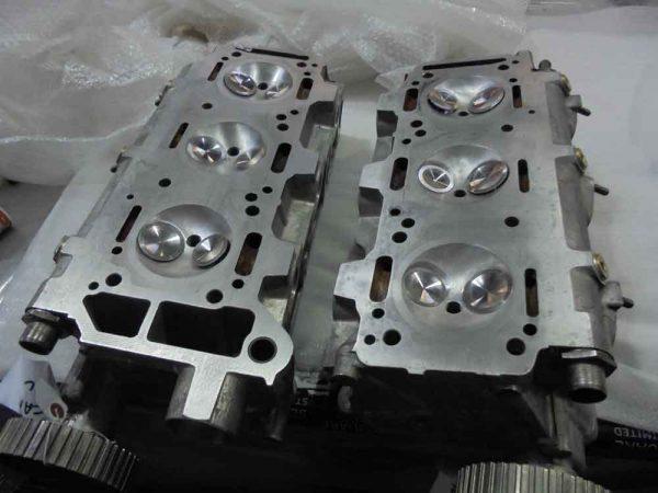 Alfa Romeo V6 performance cylinder heads