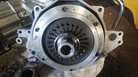 Alfa Romeo assembled clutch