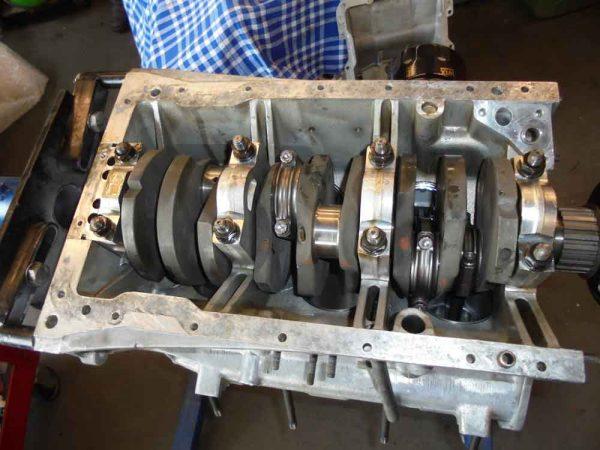 Alfa Romeo engine block