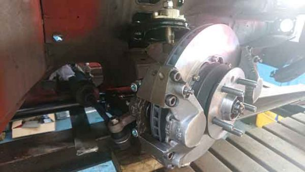 Alfa Romeo GTV6 historic racing brake calliper
