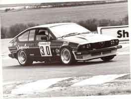 Jon Dooley Alfa Romeo with TH Turbo Split Rim Wheels