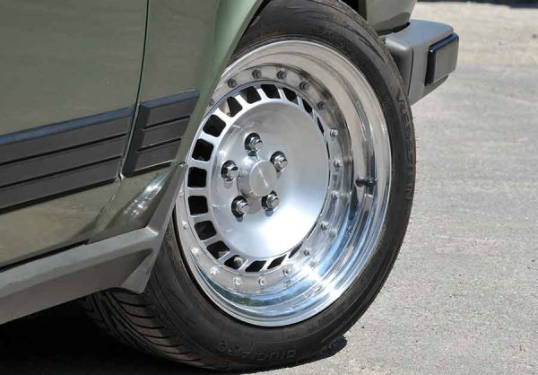 CSR Road going Alfa Romeo GTV6 TH Turbo wheel