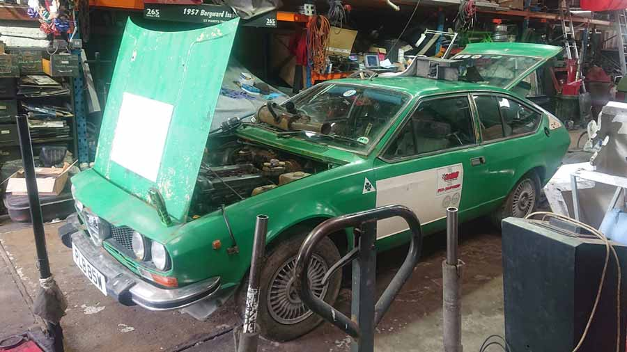 Alfetta GTV6 restoration project