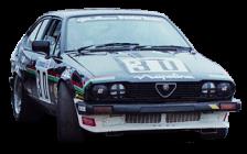 Group A Alfa Romeo GTV6 ARDT BTCC car