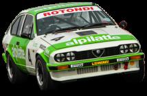 Alfa Romeo GTV6 Imberti replica raced at Goodwood